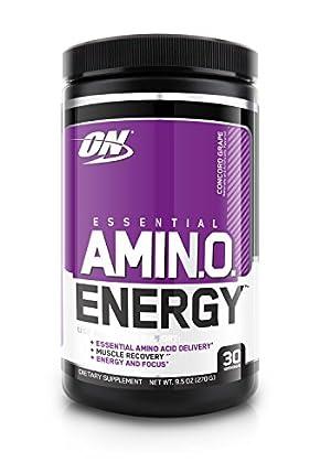 Optimum Nutrition Essential Amino Energy, Concord Grape, 30 Servings