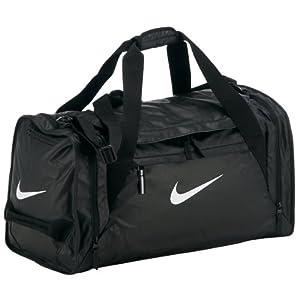 Nike Ultimatum Max Air Duffel Bag - Black/White, One Size