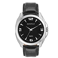 Laurels Diplomat Analog Black Dial Mens Watch ( Lo-Dip-202)