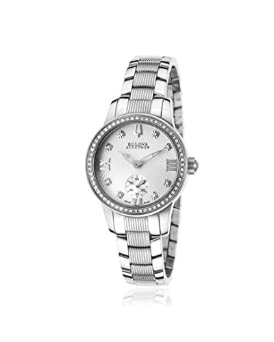 Bulova Women's ACCUTRON-63R001 Masella Silver Tone Stainless Steel Watch
