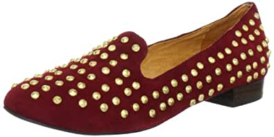 Buffalo 211-1170-20, Mocassins femme - Rouge (Wine Golden Studs), 36 EU (2.5 UK)