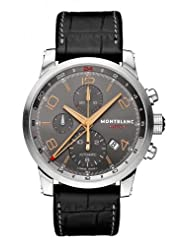 Montblanc Timewalker Automatic Chronograph Anthracite Dial Mens Watch 107063