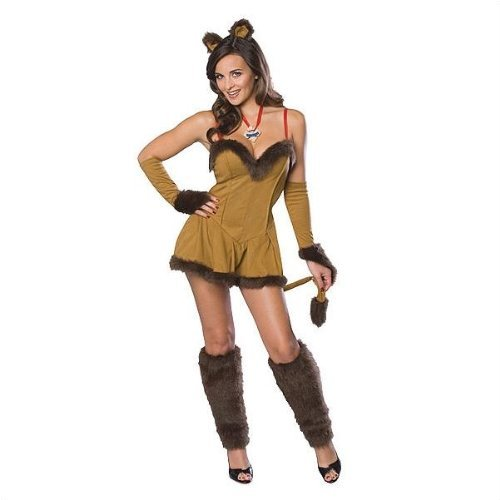 Cowardly Lioness Costume - Medium - Dress Size 10-14