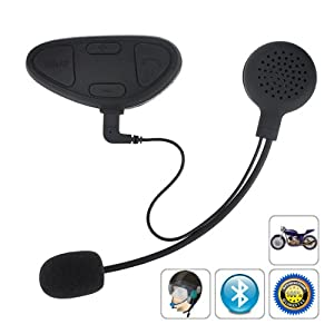 Multipoint Bluetooth Helmet Stereo Headset, Talking to Another Interphone in 150m Distance