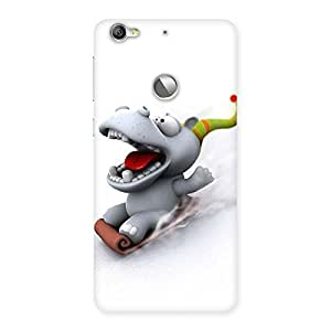 Ajay Enterprises Slide Dog Back Case Cover for LeTV Le 1s