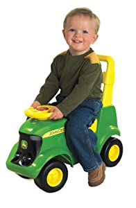 Ertl John Deere Sit 'N Scoot Activity Tractor from Learning Curve