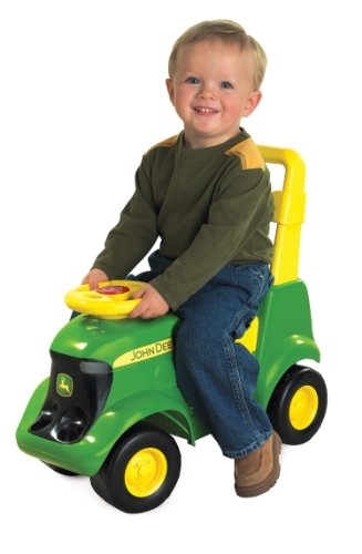 Ertl John Deere Sit 'N Scoot Activity Tractor