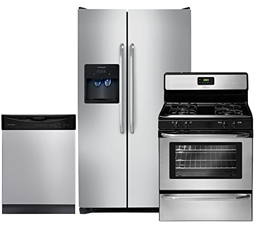 Frigidaire 3-Piece Stainless Steel Kitchen Package with FFSS2614QS 36