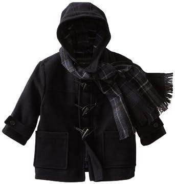 Rothschild Little Boys' Toggle Coat, Dark Navy, 4