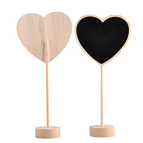 UCEC-10pcs-Mini-Rectangular-Chalkboard-with-Stand-and-Sturdy-Thick-Base-Best-for-Wedding-Party-Table-Numbers-Place-Card-Favor-Tag-Plant-Marker