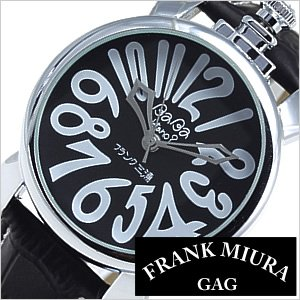 フランク三浦腕時計[Frank三浦]( ババデタノ 腕時計 ミューラー時計? フランクミューラー腕時計? ババ・デタノ 時計 ガガ・ミラノ時計? )弐号機改/メンズ/レディース/男女兼用時計/FM02NK-BK