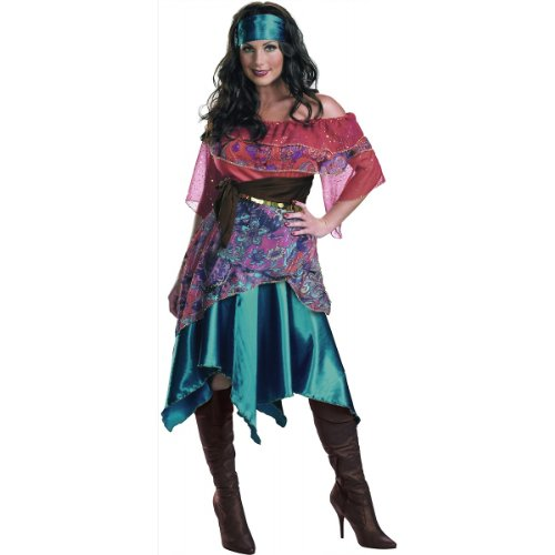 Bohemian Babe Adult Gypsy Costume Women 8-10