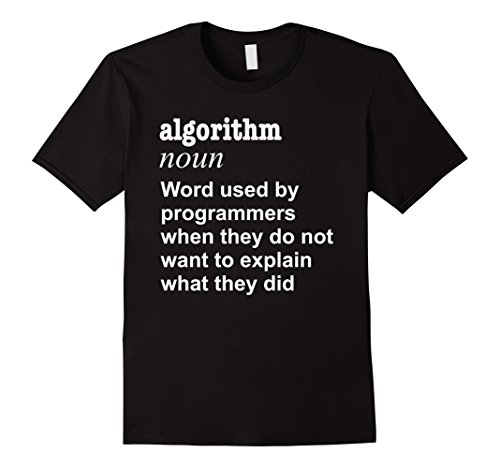 Men's Honest Programmer Programming Defintion Gift T-Shirt Medium Black