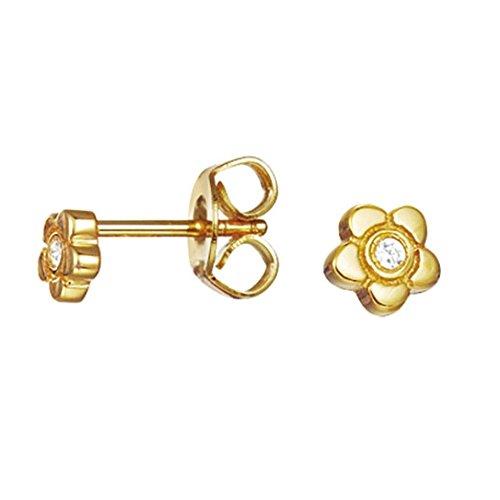 espirit-charm-jw50258-eser92736b000-kids-stud-earrings-gold-925-sterling-silver-rhodium-plated-white