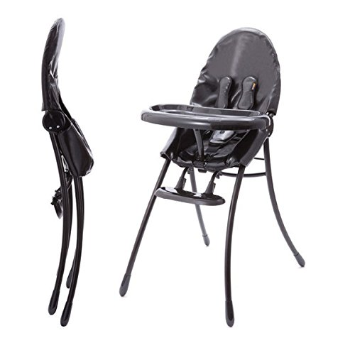 Bloom Nano Urban Highchair, Matt Black/Snakeskin Black - 1
