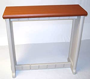 Leisure Accents Spa Bar and Counter, Portabello/Beige, 36 Inches Long by 36 Inches High