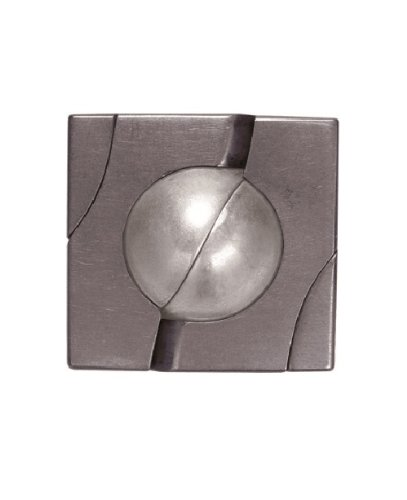 MARBLE Hanayama Cast Metal Brain Teaser Puzzle (Level 4) - 1