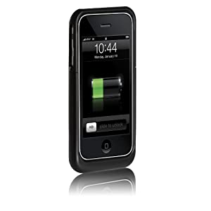 Case-Mate Fuel Lite iPhone 3G & 3GS (Case w/ Extended Battery) (Black)