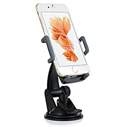 [Universal Car Mount Holder] iXCC 360 Degree Swivel Cellphone / GPS Cradle with Ball Joint for Apple iPhone / Samsung Galaxy / Android / GPS and More