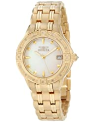 Invicta 0268 Collection Accented Gold Plated