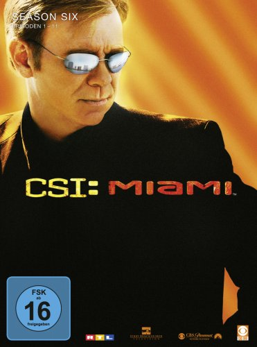 CSI: Miami - Season 6.1 [3 DVDs]