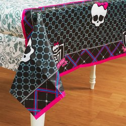 Mattel - Monster High Paper Tablecover - 1
