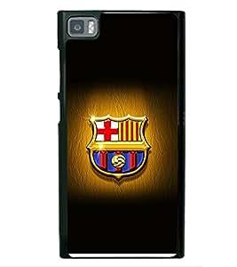 printtech Barcelona Football Logo Back Case Cover for Xiaomi Redmi Mi3::Xiaomi Mi 3
