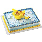 Rubber Ducky Cake Topper Spoon and Bowl Set