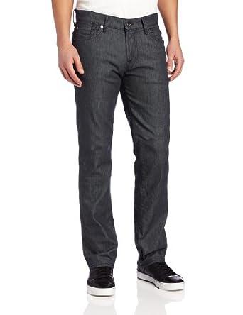 7 For All Mankind Men's Slimmy Slim Straight Leg型男牛仔裤折后$74.74Clean Grey