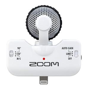 Zoom iQ5W Condenser Microphone, Figure 8