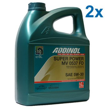 10 (2x5) Liter SAE 5W-30 Addinol Super Power