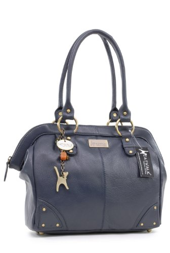 Sac à main Gallery signé Catwalk Collection - Bleu Marine