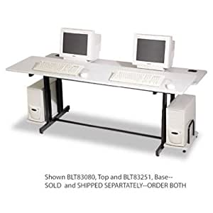 BLT83251 - Balt Split-Level Computer Training Table Base