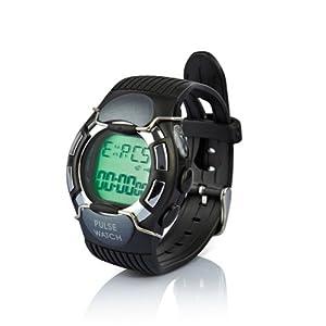 Cardiofréquencemètre,Montre de sport Moniteur de fréquence cardiaque, montre à cadran lumineux et imperméable.