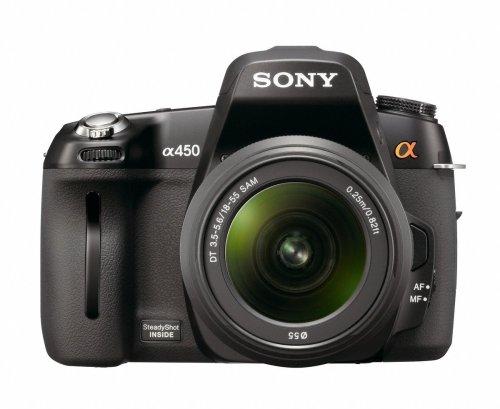 Sony DSLRA450L Alpha Digital SLR Camera (14.2MP, 6.9cm LCD) with 18-55mm lens