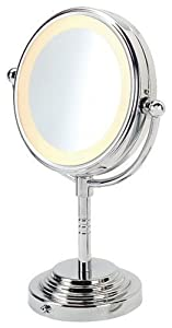 Revlon 9409 Compact Chrome Lighted Mirror