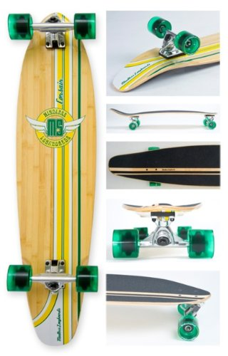 Mindless Corsair Longboard - Green Ml2100