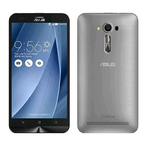 """Asus Zenfone 2 Laser 5,5"""" Smartphone, 16 GB, Dual-SIM, Argento [Italia]"""