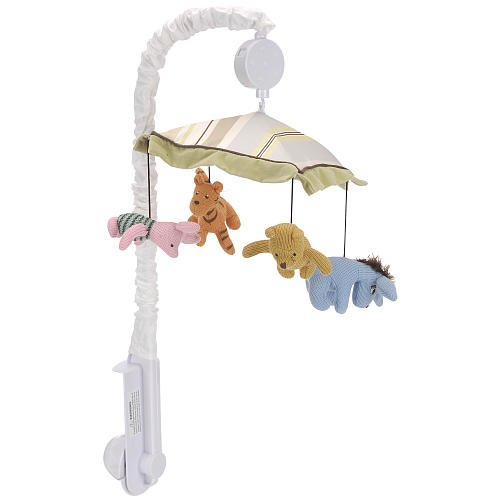 "Cheap Winnie the Pooh ""Together Collection"" Musical Mobile – colors as shown, one size guides"