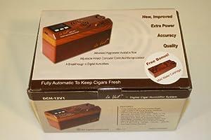 Le Veil DCH-12V1 Auto Digital Cigar Humidifier