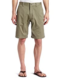 Mountain Khakis Men\'s Teton Twill Short Relaxed Fit, Olive, 38