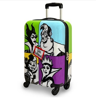 Disney Villains Girl's Weekend Rolling Suitcase
