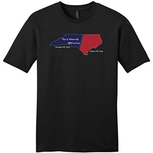 This Is Where My Bbq Is From Lexington Style Young Mens T-Shirt Large Black