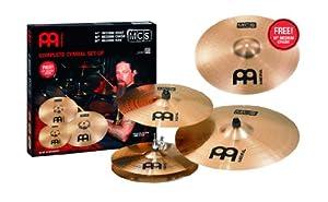 meinl cymbals mcs mcs18mc mcs cymbal box set pack with 14 hi hat pair 16 crash. Black Bedroom Furniture Sets. Home Design Ideas