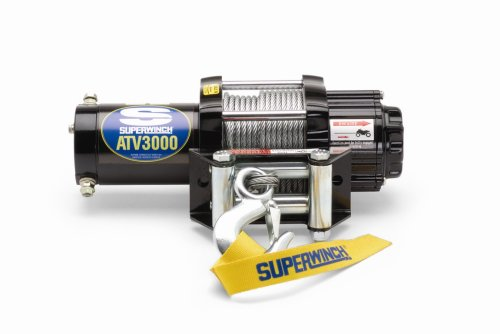 lowest price superwinch 1130210 atv 3000 series winch with. Black Bedroom Furniture Sets. Home Design Ideas