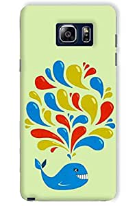 IndiaRangDe Case For Samsung Galaxy Note 5 Printed Back Cover
