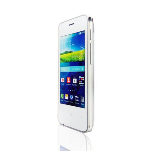 Apple Tree T11 Android Touch Screen White color Smart Phone 3.5 Inch Screen By Gadgetbucket
