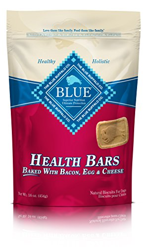 Blue Buffalo Health Bars with Bacon, Egg and Cheese Treats F