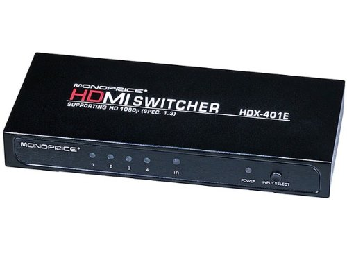 4X1 Enhanced Hdmi® Switch W/ Built-In Equalizer & Remote (Rev.3.0) Product No: 4088