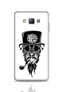 Beard India Pirate Beard Hat Pipe Mobile Cover For Apple Samsung Galaxy A7